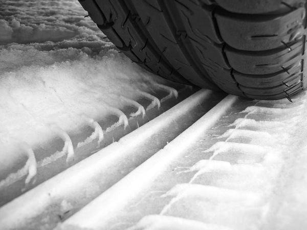 tire tracks Tire Tyre Tyre Tracks Tire Tracks Snow Slippery Automotive Automobile Parts Blackandwhitephotography Black And White Photography Black&white Blackandwhite Photography Black & White Black And White Blackandwhite Tread Pattern Rubber Vehicle Part Transportation Industry