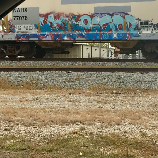 Train car Graffiti Train Track Daytime South Traveling Train Car Writing Paint Defaced ArtWork Art Outdoors Daytime Photography Let's Go. Together.