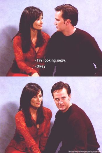 Me :)  Sexy Fail Tvserie Friends Chandler Monica Relationshipgoals Funny Bestquote