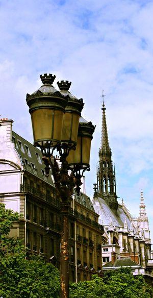 Architectural Feature Architecture City Cloud Low Angle View No People Paris Sky