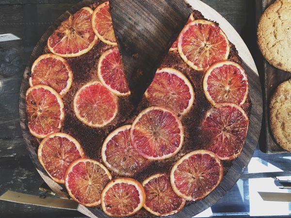 Foodie Gjusta Bakery Venice California Love Blood Orange Cake