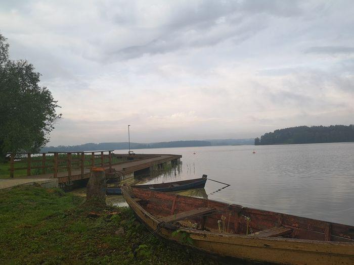 old boat Sky
