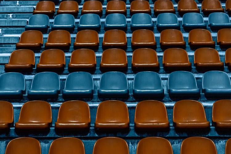 Stadium Architecture Arrangement Auditorium Backgrounds Bleachers Chair Chair Convention Center Day Empty Full Frame In A Row Indoors  Large Group Of Objects Modern Neat No People Repetition Seat Seating Seats Seminar Stadium University