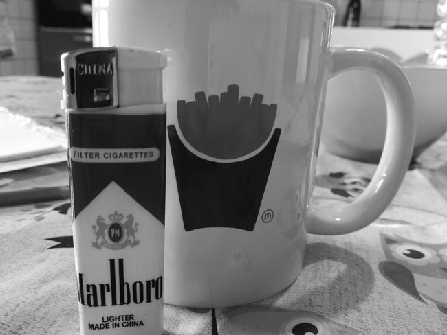 My Fav Moment 🍵🚬 Drink No People Lemontea Coffee Time P9 Leica_camera Last Cigarette Love To Take Photos ❤ Lifestyles Looking At Camera