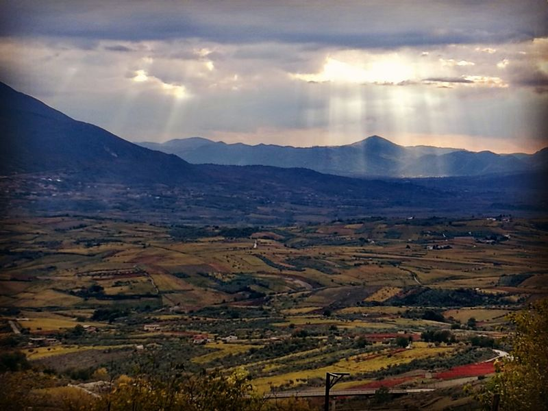 Landscape Mountain Scenics Nature Beauty In Nature No People Tranquility Autumn Colors Huaweip9photos P9 Huawei Agriculture Eye Em Nature Lover Outdoors Sannio