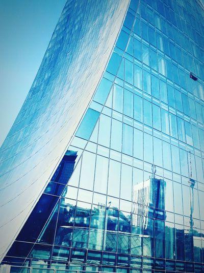 Architecture Blue Outdoors Baku Azerbaijan Glass Glassbuilding Building Dust Flametowers AlovQüllələri Bakı Nadir