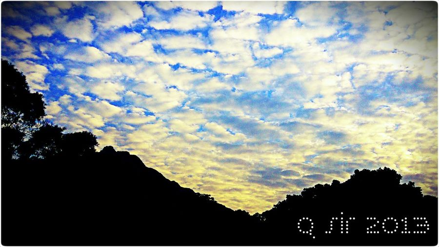 Clouds And Sky Lionhill HongKong Morning