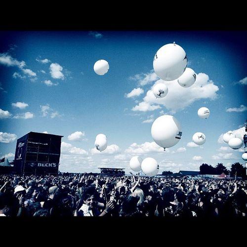 Ballons bei Welle:Erdball. #mera12 Mera12