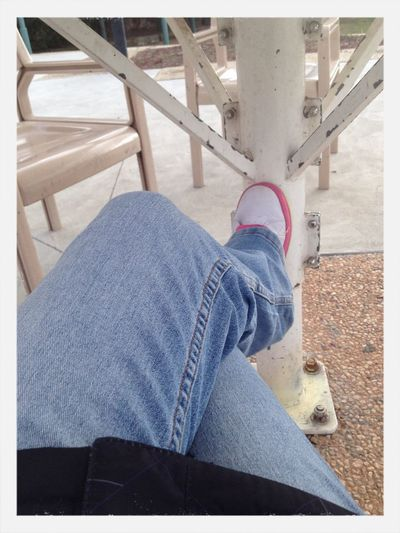Waiting for my next class