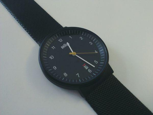 Design 101 Braun Watch