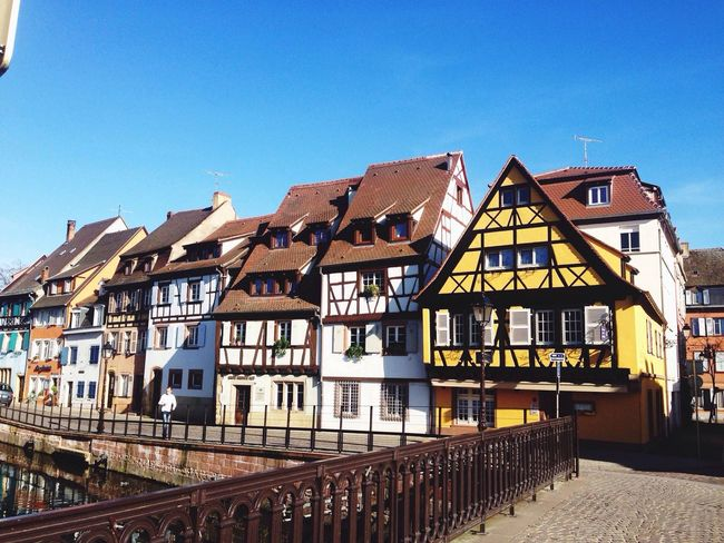 Typical houses of Colmar France Houses