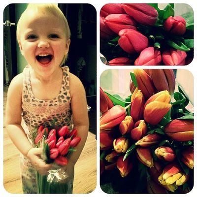 весна восьмоемарта Тюльпаны праздник полли женскийдень