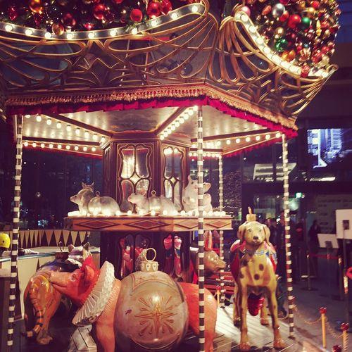 Merrygoround Marunouchi Christmas Tree Winter Holiday Illumination Lights