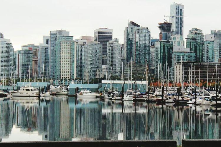 Vancouver BC British Columbia Vancouver Sailboat Harbor First Eyeem Photo