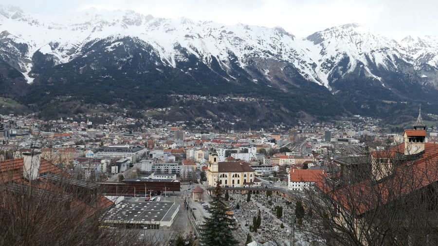 Under clouds Innsbruck View Innsbruck View From Above City View  Urban Skyline Urban Photography Architectural Detail Architectural Design Architectural Photography Mountain Snow Cold Temperature Winter Full Frame Mountain Range Building Exterior Architecture Snowcapped Mountain Snowcapped Weather TOWNSCAPE Rooftop Town