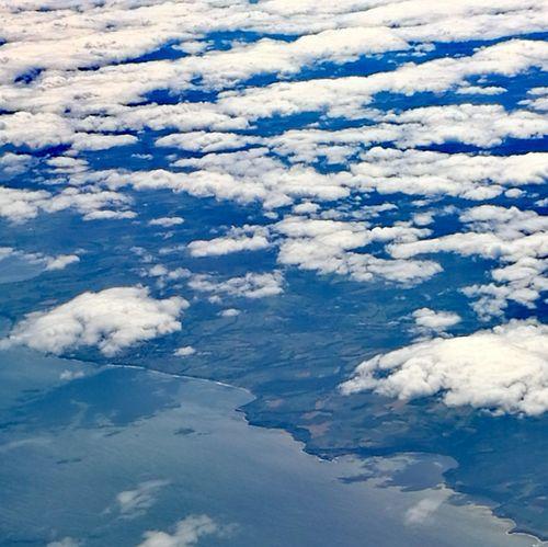 Cloud - Sky Sky Full Frame Blue