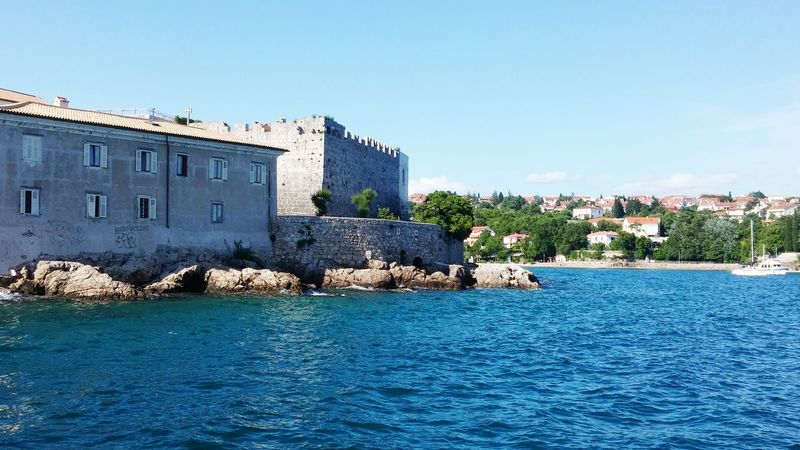 Croatia ♡ Hanging Out Krk Island Sea And Sky Fortress