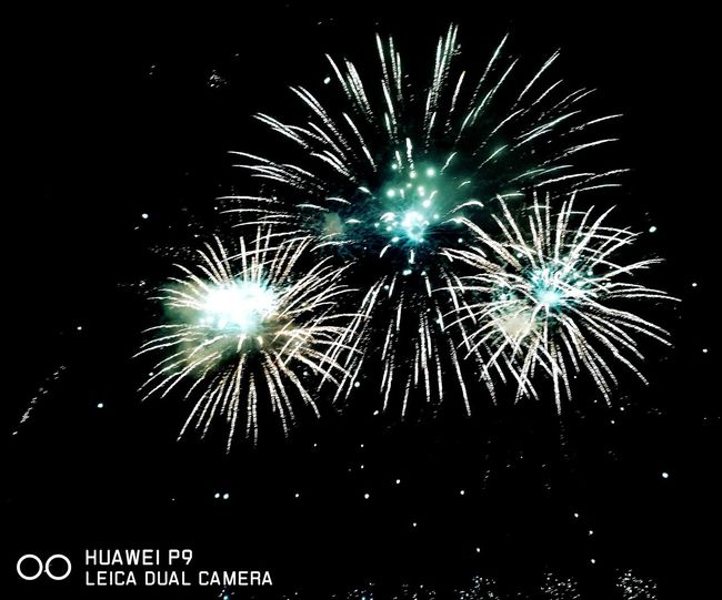 Fireworks Pyromagic Night Dark HuaweiP9