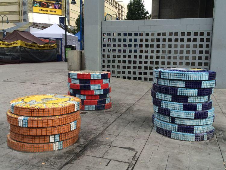 Urban Art Street Art Pokerchips Biggest Little City Reno