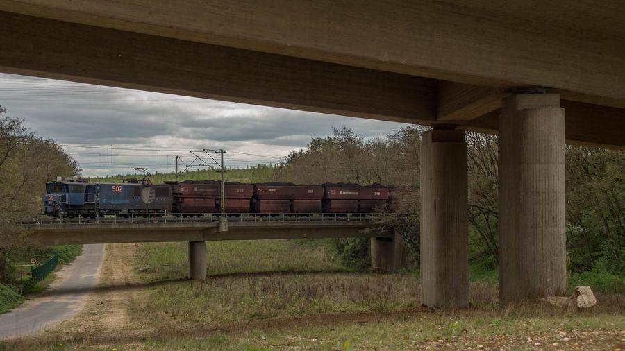 Bergbau Braunkohle Eisenbahn Ellok Kohle Railway Rheinbraun RWE Power Tagebau