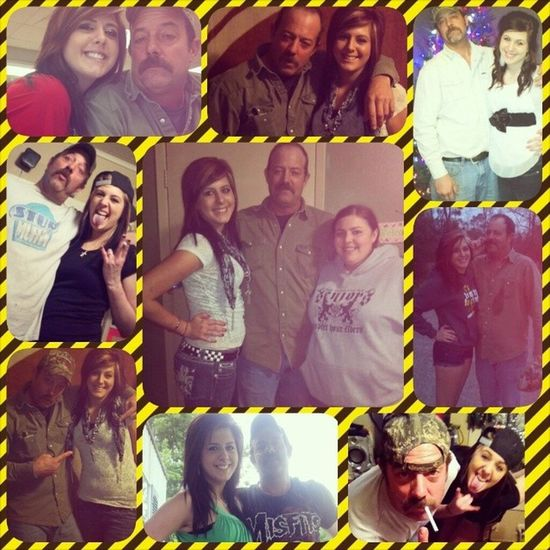 I love this man so much I know I can count on him for anything he is the best I know he will never hurt me that's why he is my number one and I am his baby girl and he is my dad(: Lovehim MyDad Neverchangehim Nevertraadehim