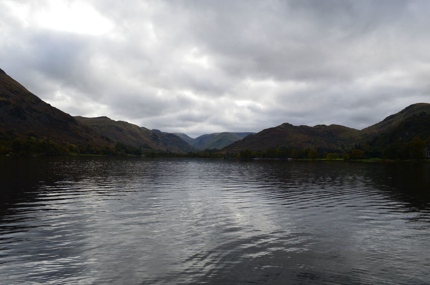 Beauty In Nature Cloud Cloud - Sky Day Idyllic Lake Mountain Mountain Range Nature No People Non-urban Scene Outdoors Remote Scenics Sky Tranquil Scene Tranquility Water Natural Beauty Ullswater English Countryside Cumbria Lake District Lakeshore Natural Beauty!