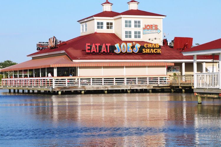 Architecture Built Structure Building Exterior Water Waterfront Day No People Sky Outdoors Politics And Government Joe's Crab Shack  Eat At Joe's Myrtle Beach SC Quiet Moments Art Is Everywhere The Architect - 2017 EyeEm Awards