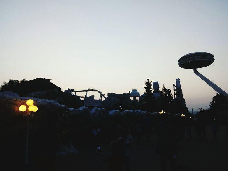 Lunapark Gardaland Gardalandpark Night Outdoors Large Group Of People Sky People Lastdayofholiday Happiness Italy
