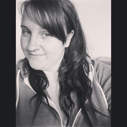 Selfie Blackandwhite Curly Hair! Extensions