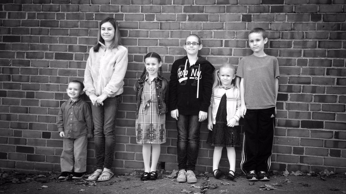 We Are Family IPhone Photography Family Black And White Happiness Children