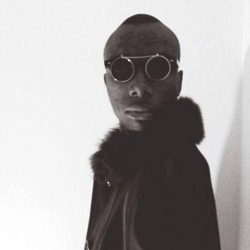 Instagram Twitter Model Paris Popular California Sunglasses Fur Coat Fashion