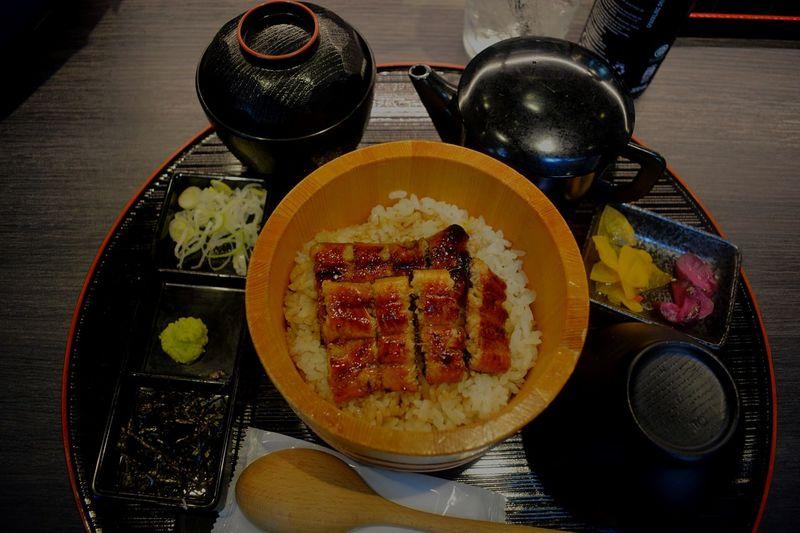 "Fresh Eel ""Unagi"" in Singapore. Unagi Don Japanese Food Unagi Eel Dinner EyeEm Selects Food And Drink Food Freshness Healthy Eating Ready-to-eat Table Meal Asian Food"