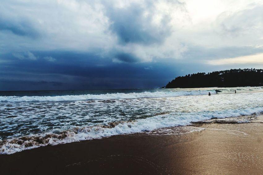 Beach Sea Dramatic Sky Evening Sky Outdoors Seascape Mirissabeach Mirissa