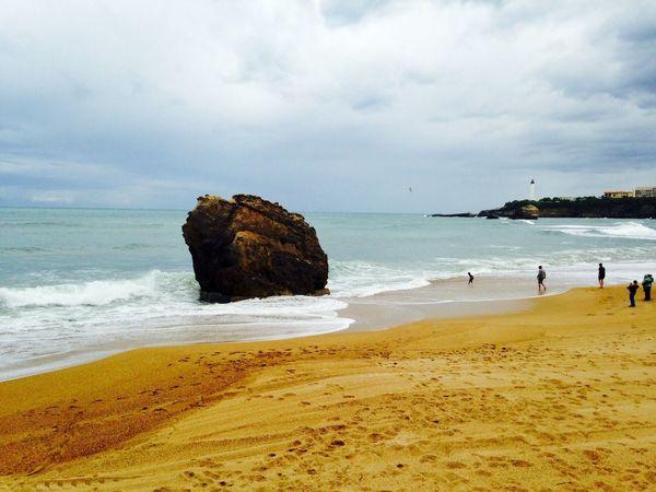Biarritz RRockbBeachphotographyBBeach PhotographysSea