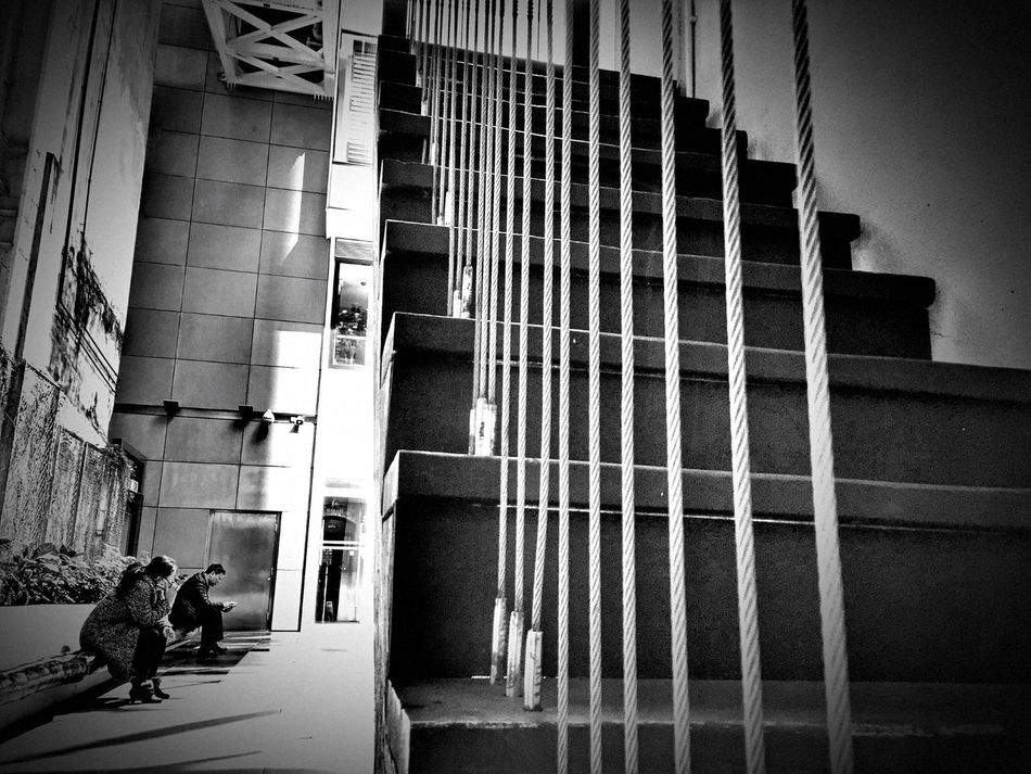Wanchai Hkig Hong Kong HongKong Cityview EyeEmNewHere Tsuistyle Photography Afternoon Stairs Lines Lines And Shapes Daily Life People And Places People Sitting Relaxing Leisure Activity Relaxing Afternoon City Life The City Light IPhone IPhoneography Iphoneonly Iphonephotography EyeEmNewHere Welcome To Black Welcome To Black