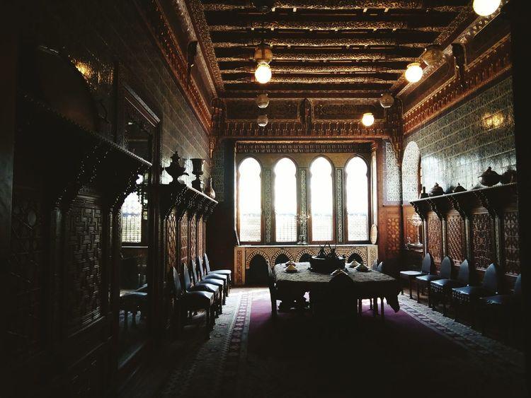 غرفة الطعام ♡ Indoors  Chair No People Architecture Day