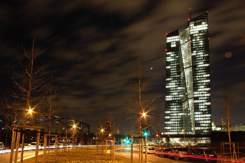 Night Illuminated Sky City Outdoors Architecture No People Tree Cityscape