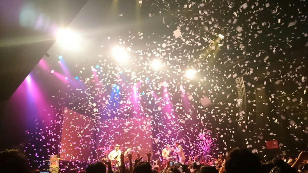 OKGoサイコーでした♪ \(^o^)/ Okgo Live Music Good Sound Enjoy ✌ Enjoying Life Taking Photo Light And Shadow EyeEm Best Shots EyeEm Music Lover