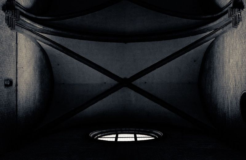Cealing... Venice Italy Church Cealing Blackandwhite Light Shadows