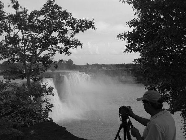 Waterfall Mobile Photography Naturephotography Captured The Moment Camera Work Chitrakotfalls chitrakotfwaterfall Bastar Black And White Black And White Photography