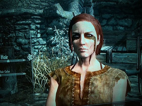 I tried to make my new Skyrim character look like Dana Skully. How'd I do? Xfiles X Files Skyrim Videogames Playstation 3 Gamergirl Science Fiction