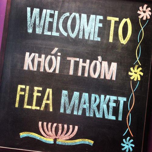 Saigon Vietnam Flea Markets Bazaar