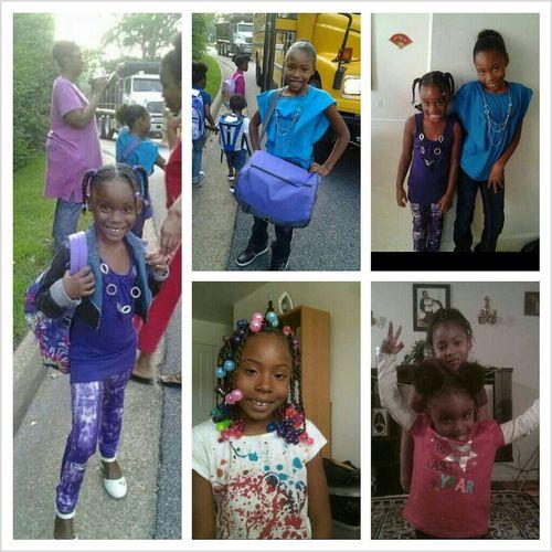 My lil cousins Ziommie & Shade