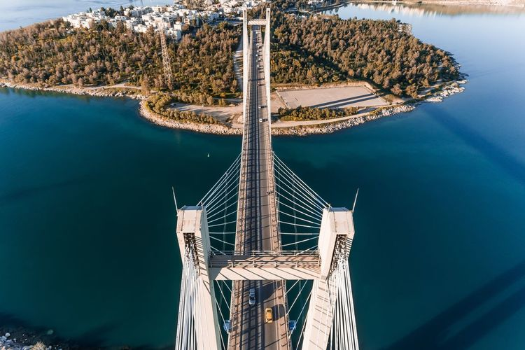 Bridge Dronephotography Drone  Water Nature No People Day Sea Outdoors Adventures In The City Summer Road Tripping