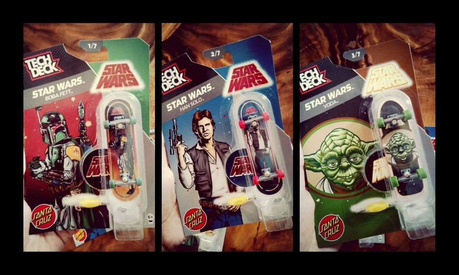 four more to go! :D Star Wars Tech Deck Fingerboard Collection