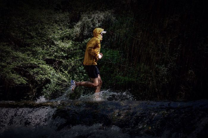River Sports Photography Trail Running Raining
