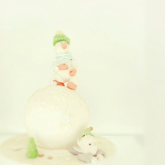 bolo boneco de neve snowman cake [pastelaria mestre pão, guarda] Bolo Boneco Neve Patelaria Mestrepao Pao Neve Cake Snowman Pastry Shop Snow