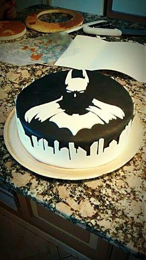 EyeEm Enjoying Life Black & White Cake Batman Superheroes Yommy
