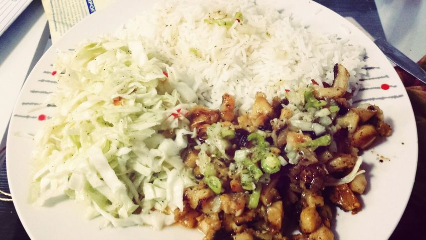 white rice, cabbage salad and grilled conch! Exotic Foods Kiss The Cook Spicy Food