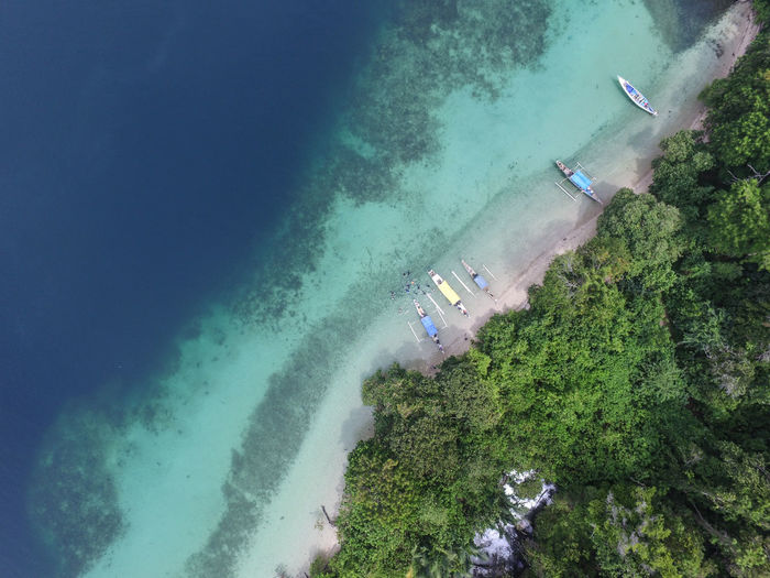 Bulupoloe island, the famouse island in the gulf of bone south sulawesi indonesia.